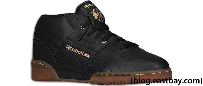 Reebok Workout Mid Ice Black Brass Ice