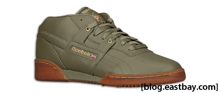 Reebok Workout Mid Ice Cargo Green Brass Ice