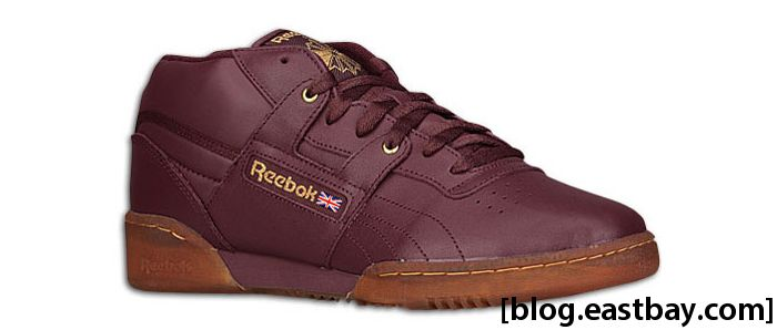 Reebok Workout Mid Ice Maroon Brass Ice
