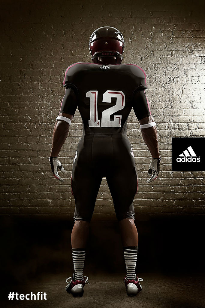 Texas A&M Aggies adidas Snow Bowl TECHFIT Uniforms (2)
