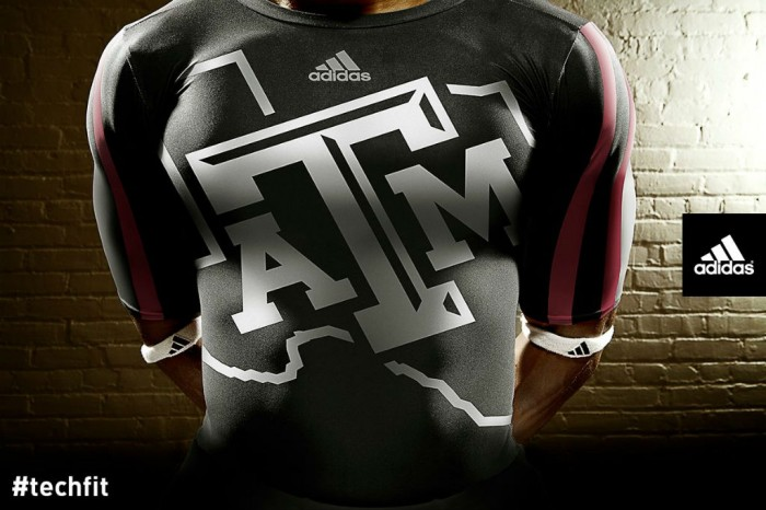 Texas A&M Aggies adidas Snow Bowl TECHFIT Uniforms (3)