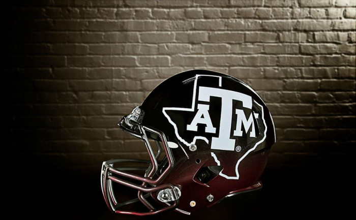 Texas A&M Aggies adidas Snow Bowl TECHFIT Uniforms (4)