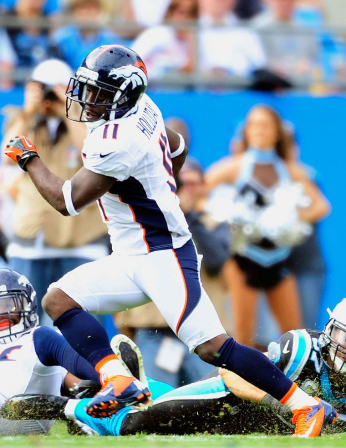 Trindon Holliday wearing Nike Vapor Pro Low TD