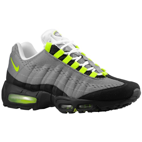 buy popular d992a b5c6e Available  Nike Air Max 95 EM – Cool Grey Black-White-Volt