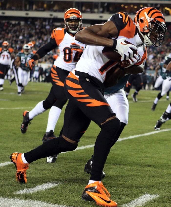 A.J. Green wearing Nike Vapor Talon Elite 3/4