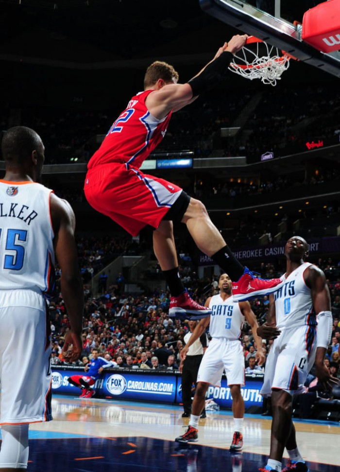 Blake Griffin wearing Jordan Aero Flight PE
