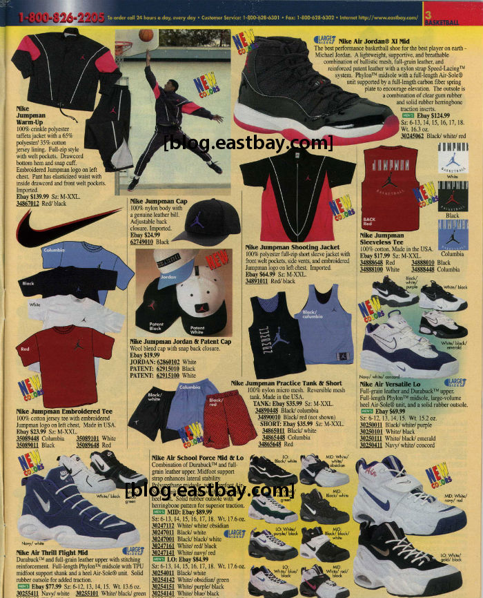 Eastbay Memory Lane // Air Jordan XI Black/Red