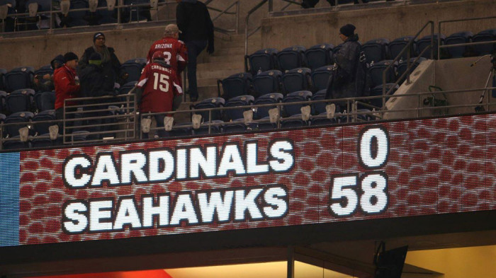 NFL Watch // Seahawks Fly By Cardinals in the Battle of the Birds