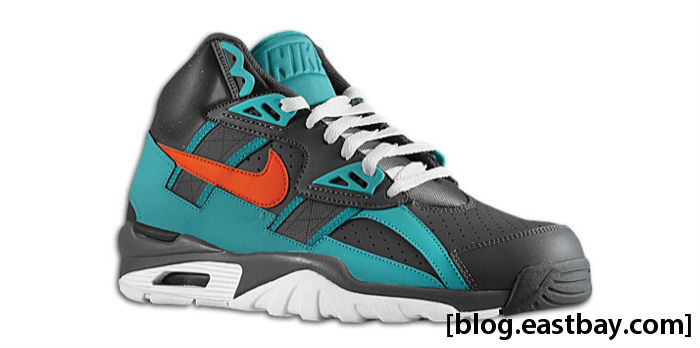Nike Air Trainer SC High Dark Grey Team Orange Sport Turquoise White 302346-080
