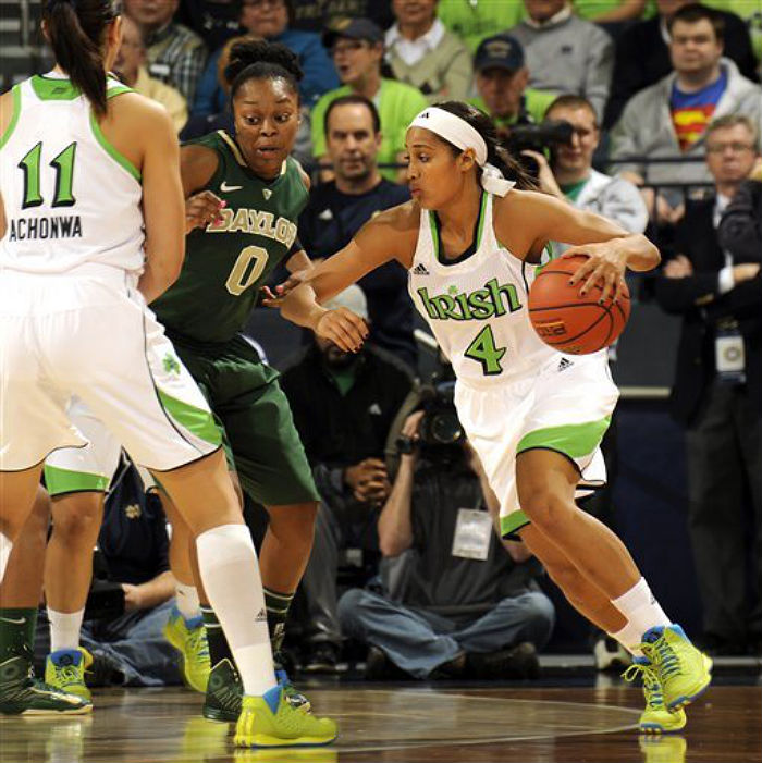 Skylar Diggins wears adidas Rose 3 Fresh Prince 90s Throwback (1)