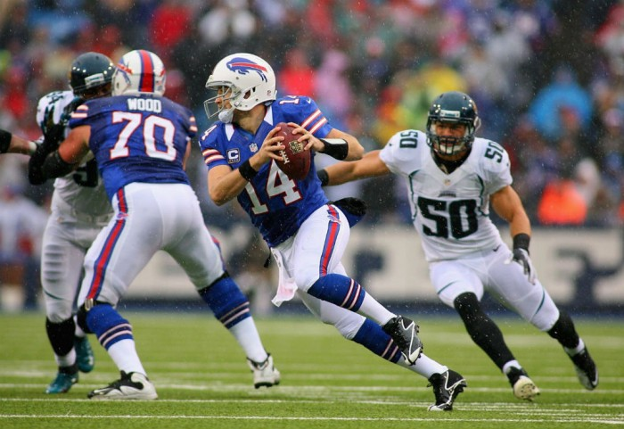 Ryan Fitzpatrick wearing Reebok Football Cleats