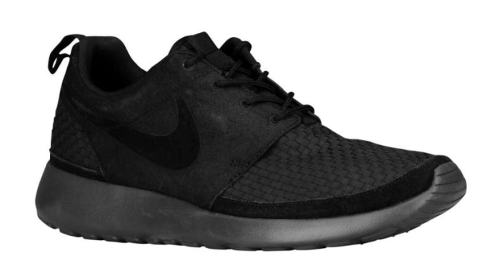 super popular a3a33 2135f Available  Nike Roshe Run Woven – Black