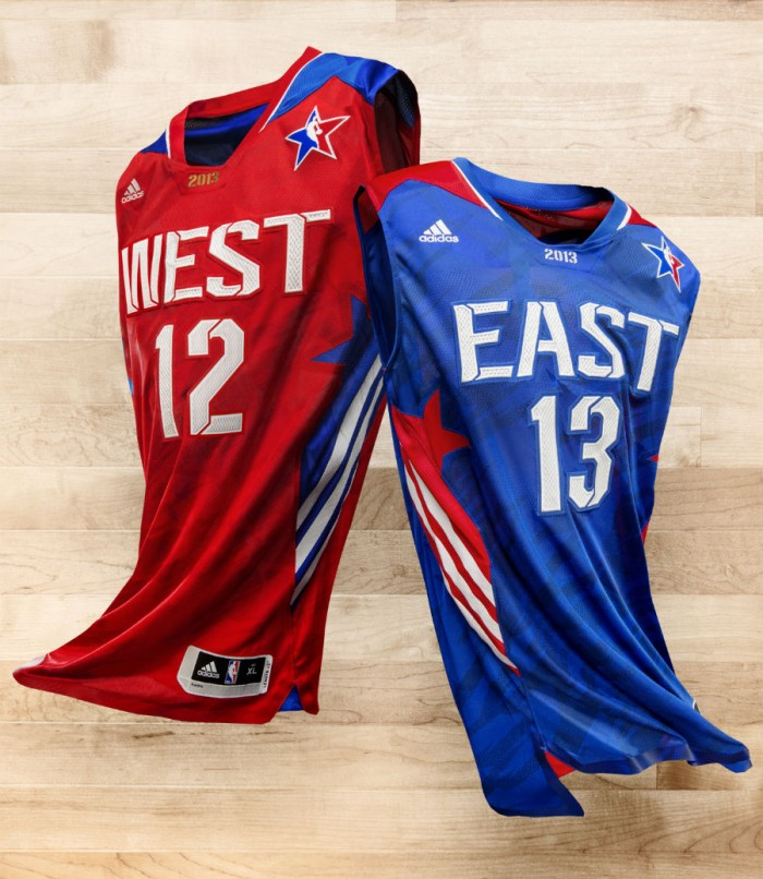 adidas Unveils 2013 NBA All-Star Uniforms (1)