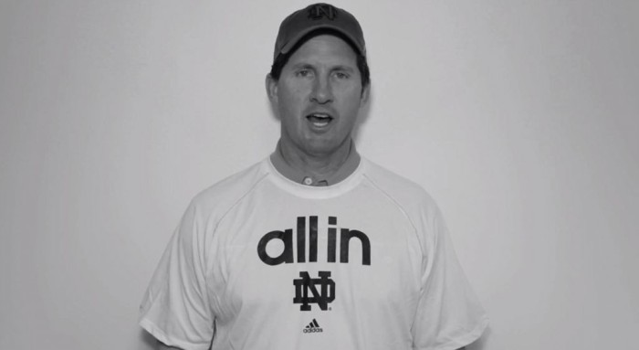 Notre Dame Football Greats Reenact Knute Rockne Speech