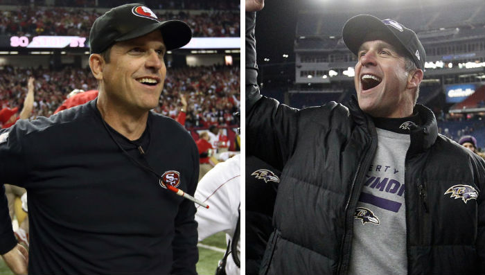NFL Watch // Niners, Ravens Set Up 'HarBowl'