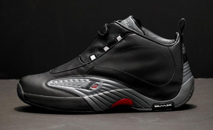 Reebok Answer IV Black Rivet Grey Excellent Red V44961