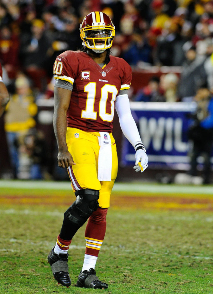 Robert Griffin III wearing adidas SuperCharge
