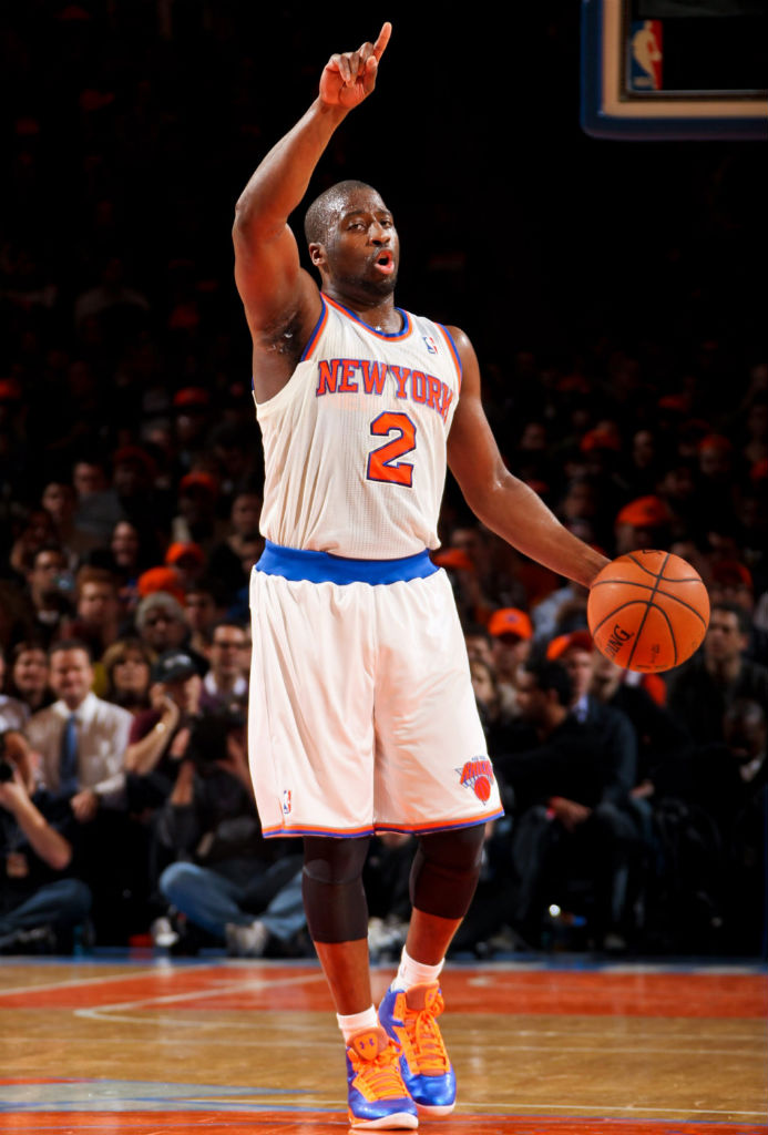 Raymond Felton wearing Under Armour Micro G Torch PE