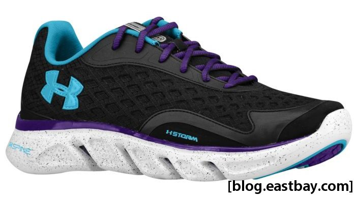 Under Armour Spine RPM Storm Women's Black Deceit Purple
