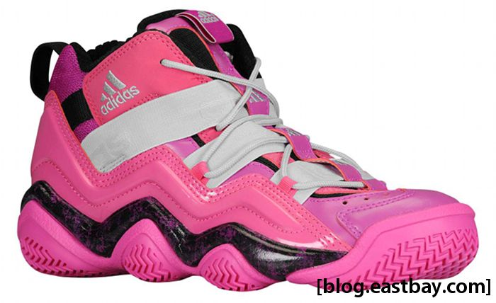 adidas Top Ten 2000 GS Vivid Pink Bliss Pink Black G32850 (1)