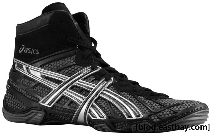 ASICS Dan Gable Ultimate 2 Black Silver