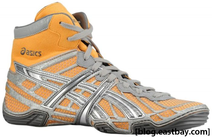 ASICS Dan Gable Ultimate 2 Silver Orange