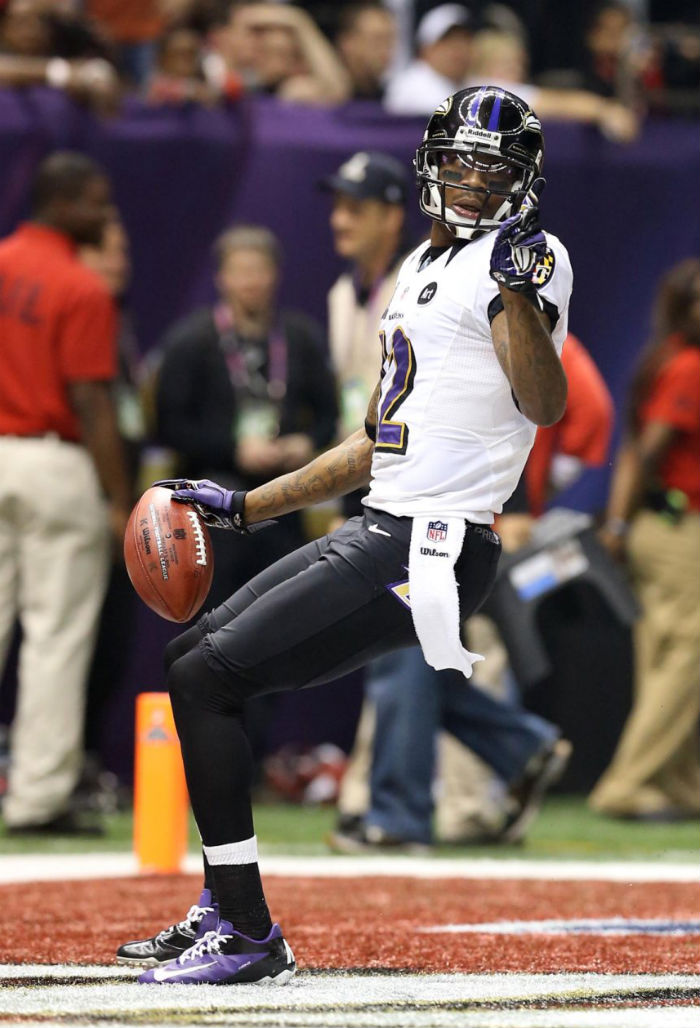 Jacoby Jones wearing Nike Vapor Talon Elite Low