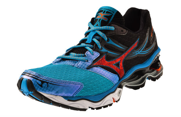 Mizuno Wave Creation 14 Dude Blue Vibrant Orange