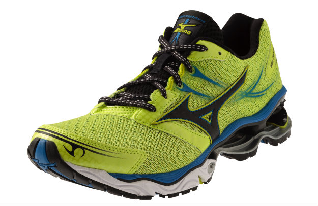 Mizuno Wave Creation 14 Lime Punch Imperial Blue
