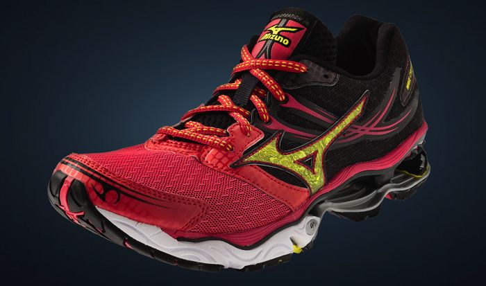 Mizuno Wave Creation 14 Women's Rogue Red Bolt