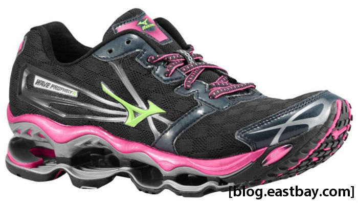 Mizuno Wave Prophecy 2 Women's Anthracite Electric Apple Green