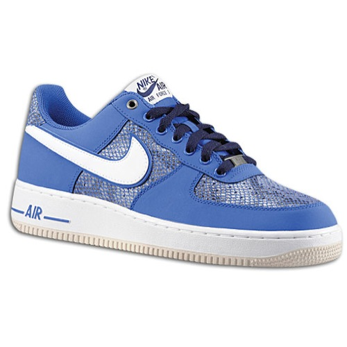 Available: Nike Air Force 1 Low – Blue Snake