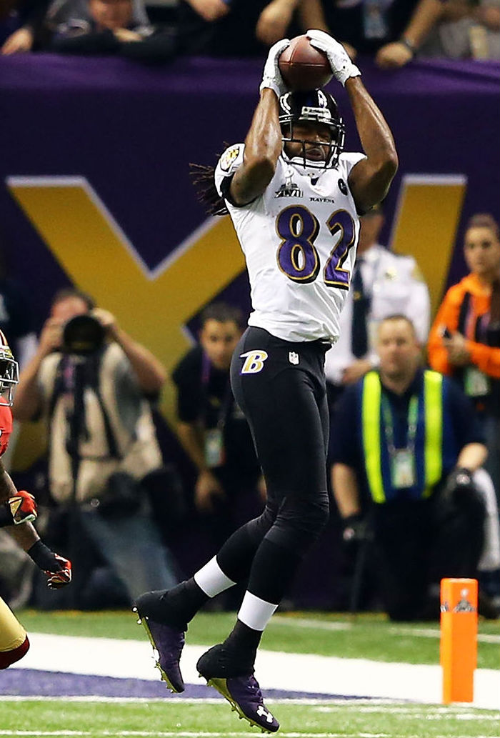 Torrey Smith wearing Under Armour Nitro Icon Low