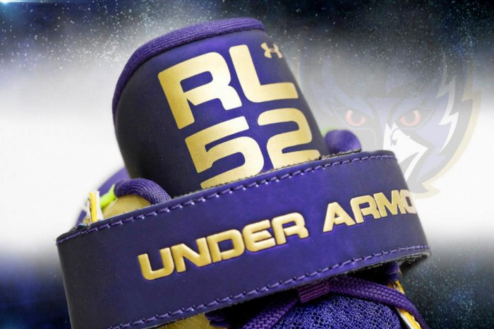 Under Armour's Golden Commemorative Super Bowl Cleats For Ray Lewis (3)
