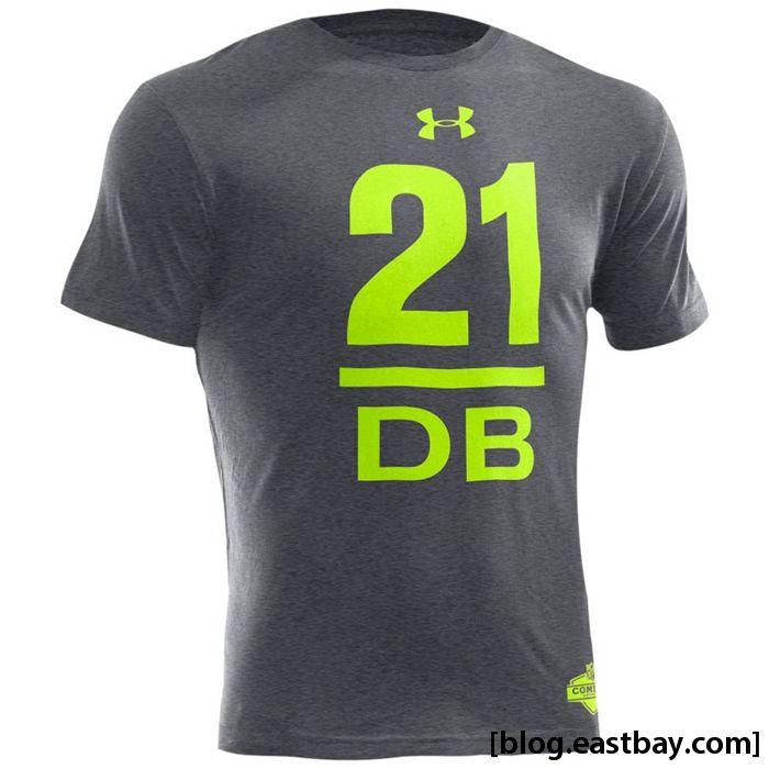 Under armour leon sandcastle combine collection eastbay blog for Under armour nfl shirts