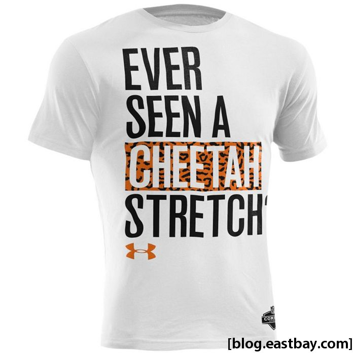 Under Armour NFL Combine Graphic T-Shirt // Leon Sandcastle Cheetah