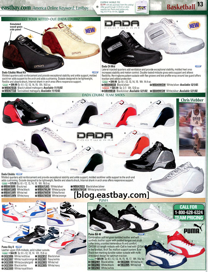Eastbay Memory Lane // Chris Webber's Dada CDubbz