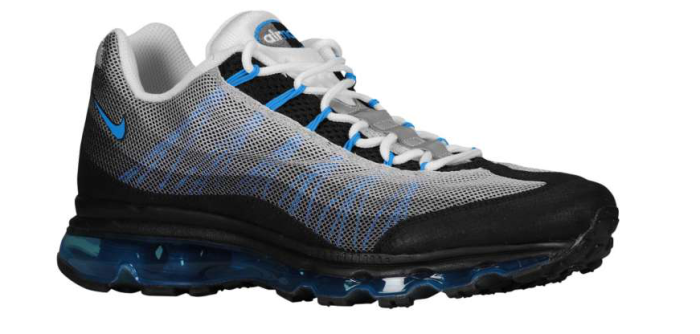 watch f3d6b f17d9 Nike Air Max 95 Dynamic Flywire Photo Blue