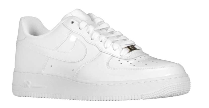 Nike Air Force 1 Low - White Patent