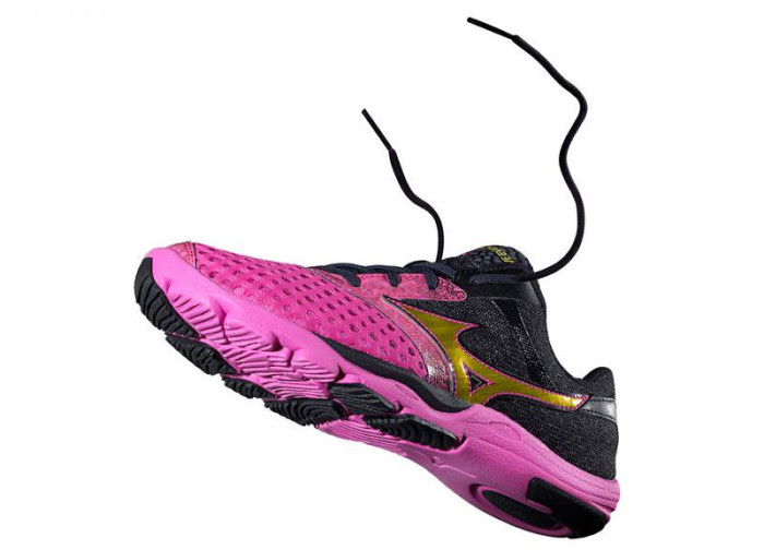 Mizuno Wave Evo Cursoris Women's Electric Blazing Yellow Anthracite (2)