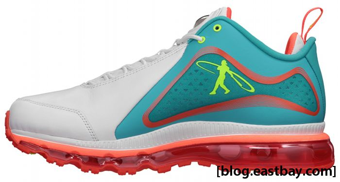 95e7ea4aec Nike Air Max 360 Swingman White Bright Turquoise Total Crimson Volt Yacht  538408-103 (
