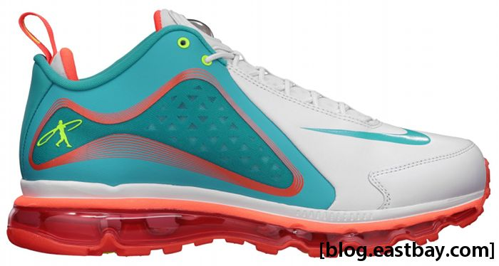 Nike Air Max 360 Swingman White Bright Turquoise Total Crimson Volt Yacht 538408-103 (6)