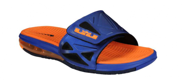 Nike Air LeBron 2 Slide Elite - Hyper Blue/Bright Citrus
