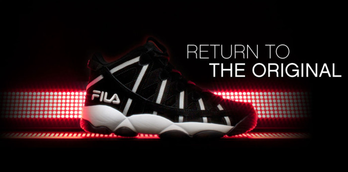 FILA Spaghetti Black White Header