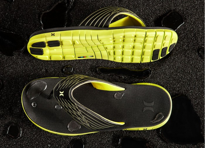 Hurley Phantom Free Sandal Black Neon Yellow (2)