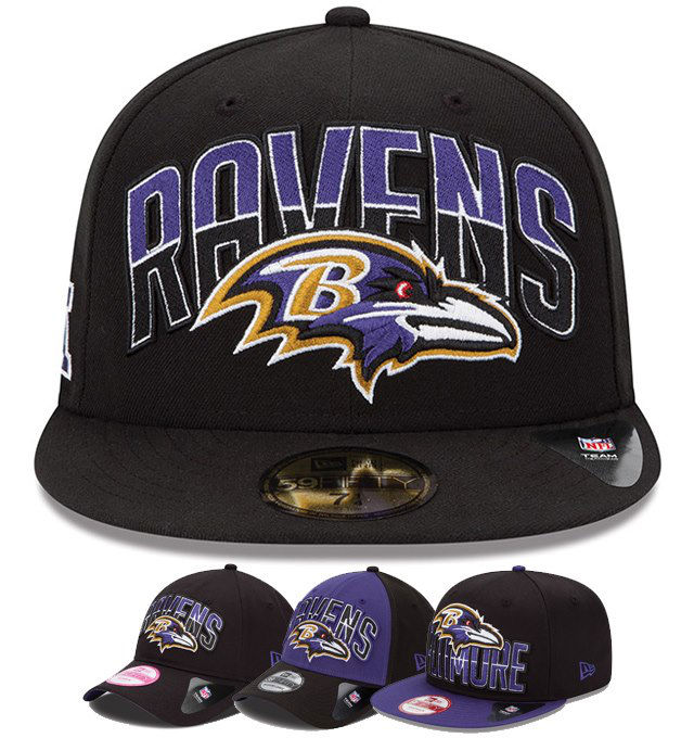 New Era 2013 NFL Draft Cap Collection - Baltimore Ravens