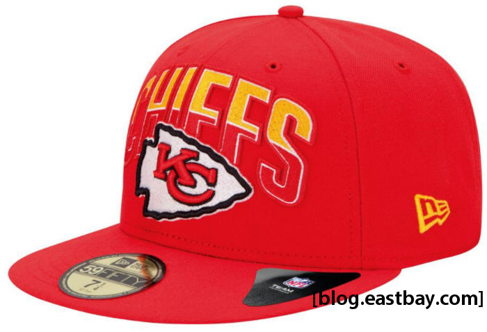 New Era NFL 59FIFTY Draft Cap - Kansas City Chiefs