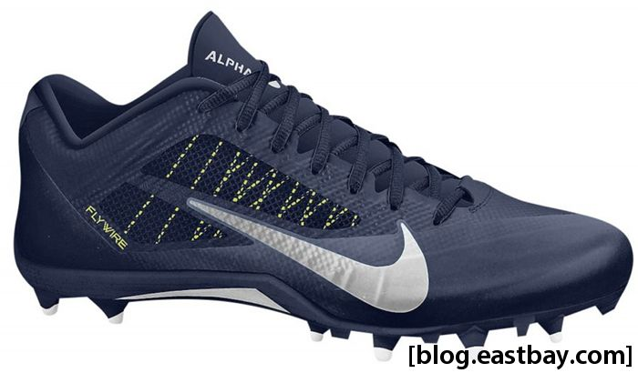 Nike Alpha Pro Low TD Navy Metallic Dark Grey