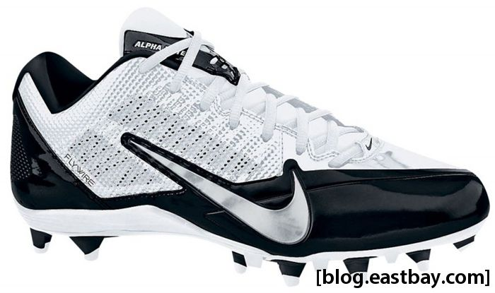 Nike Alpha Pro Low TD White Metallic Dark Grey Black