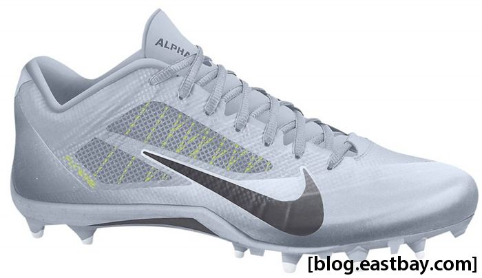 nike alpha pro low td green and gold